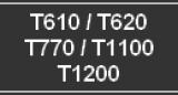 Tintenkartuschen für HP DesignJet T610/ 620/ 770/ 1100/ 1200 - Serie